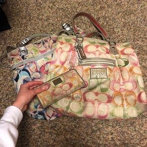 COACH 2 BAGS AND WALLET FOR $20!!